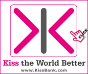 Kiss the world better!  KissBank.com