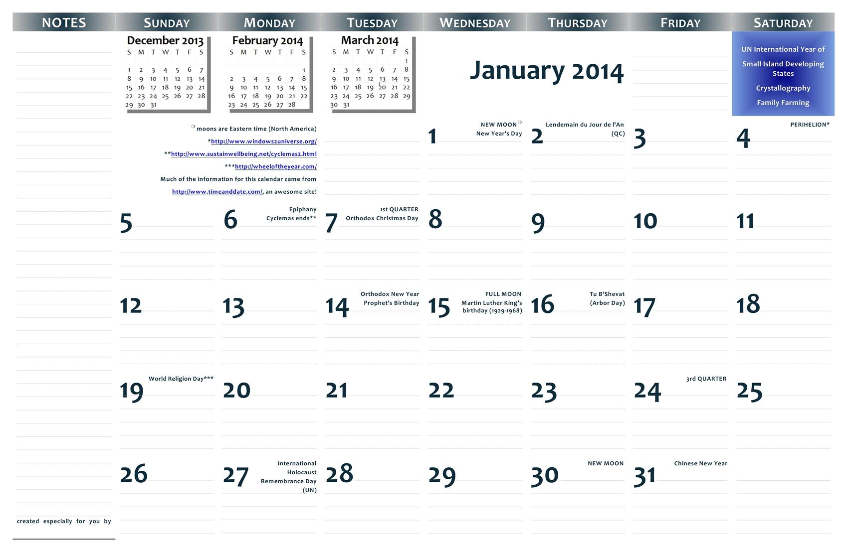 Printable 11 X 17 Calendar | Calendar Template 2016