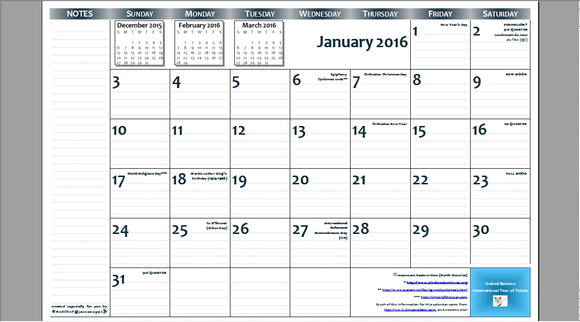 11x17 calendar template word - Geocvc.co